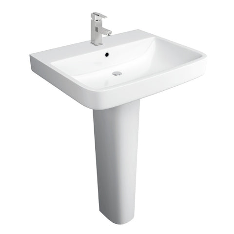 Isla 550mm Basin & Pedestal