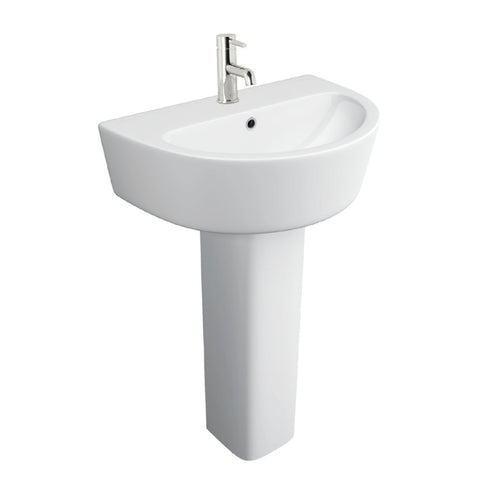 Italica 550mm Basin & Pedestal