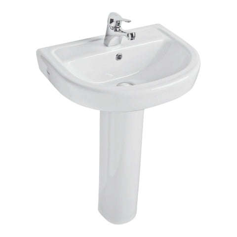 Forli 550mm Basin & Pedestal