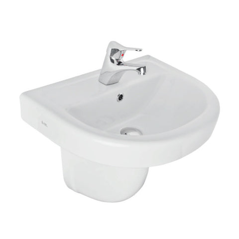 Forli 550mm Basin & Semi Pedestal