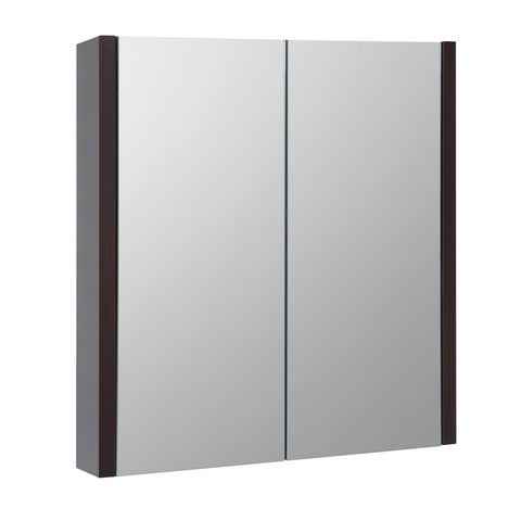 Roma 600mm Mirror Cabinet Chestnut