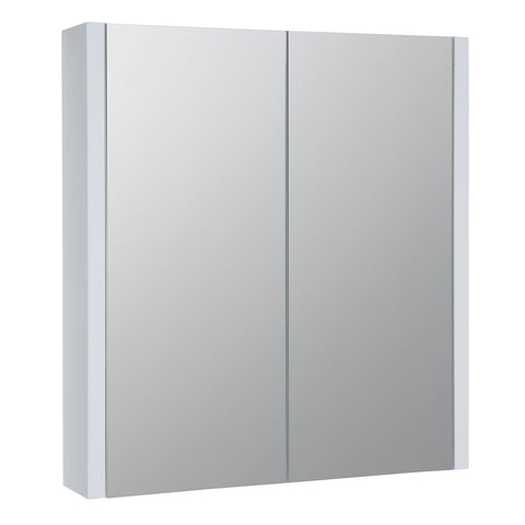 Roma 600mm Mirror Cabinet White