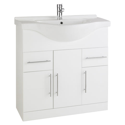 Arenso 850mm Vanity Unit & Ceramic Basin