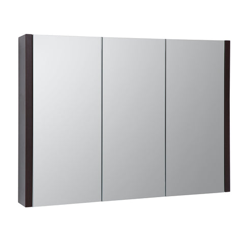 Roma 900mm Mirror Cabinet Chestnut