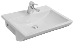 Ravenna 550mm Semi Recessed Basin