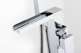 Naples Freestanding Waterfall Bath Shower Mixer