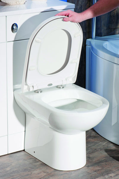 D Shaped Toilet Seat Heavy Duty