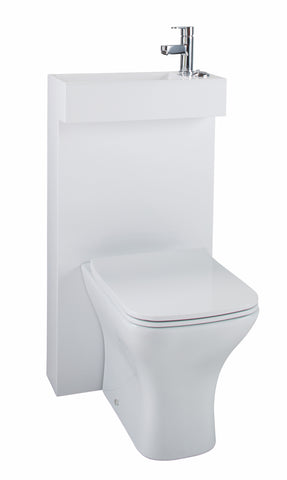 Kass WC Unit & Basin All In One, Toilet Unit & Vanity Unit, Furniture