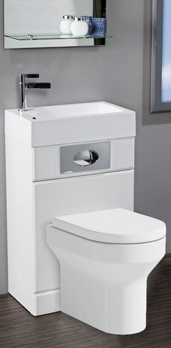 Futua WC Unit & Basin All In One, Toilet Unit & Vanity Unit, Furniture