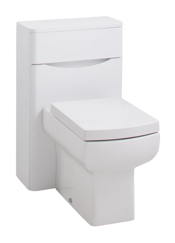 Corla Premium 500mm WC Unit Gloss White
