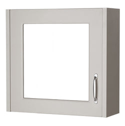 Ayton 600mm Mirror Cabinet Grey