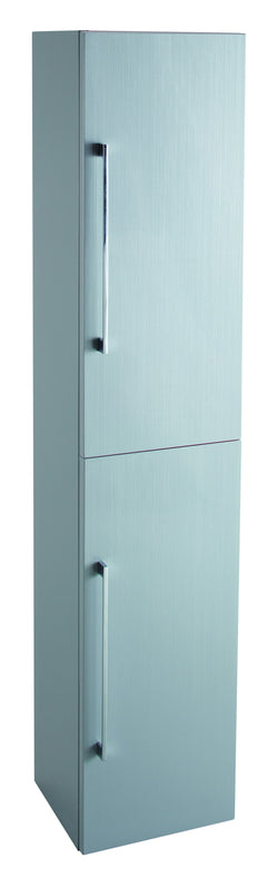 Veratti Wall Hung Tall Boy Grey