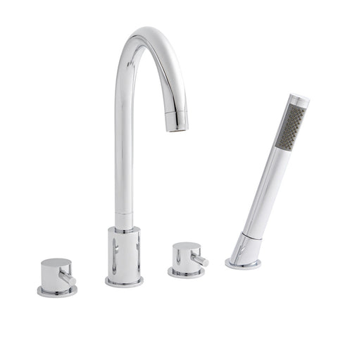 Cuneo 4 Hole Bath Shower Mixer