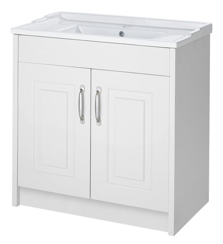 Ayton 800mm Mirror Cabinet White