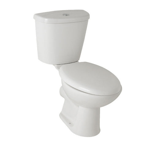 Essential Comfort Height Close Couple Toilet & Soft Closing Seat