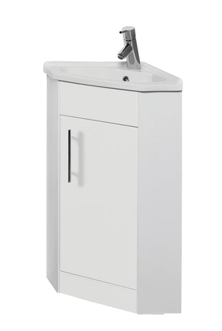 Arenso Corner Cabinet with Basin