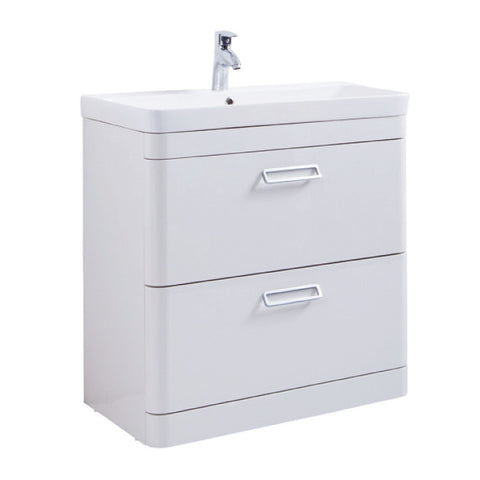 Java 800mm Floor Standing Vanity Unit & Ceramic Basin