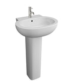 Olivia 550mm Basin & Pedestal