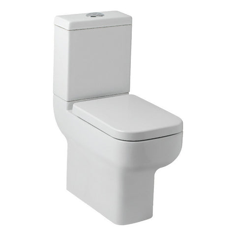 Luni Comfort Height Close Couple Toilet & Soft Closing Seat