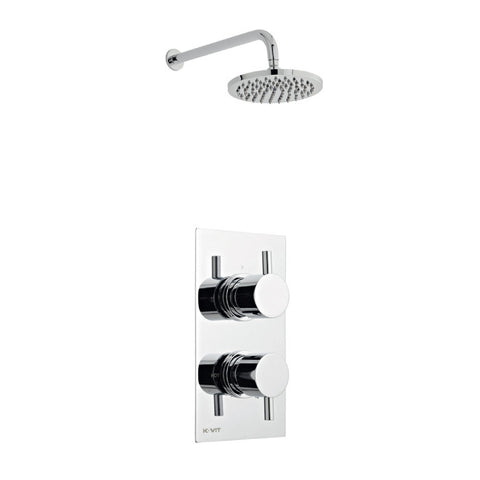 Mantua Thermostatic Concealed Shower with Overhead Shower