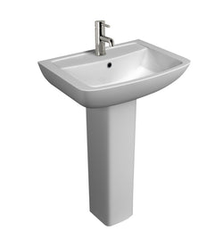 Capri 550mm Basin & Pedestal