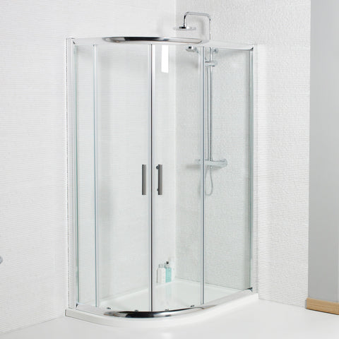 Titan Offset Quadrant Full Shower Enclosure