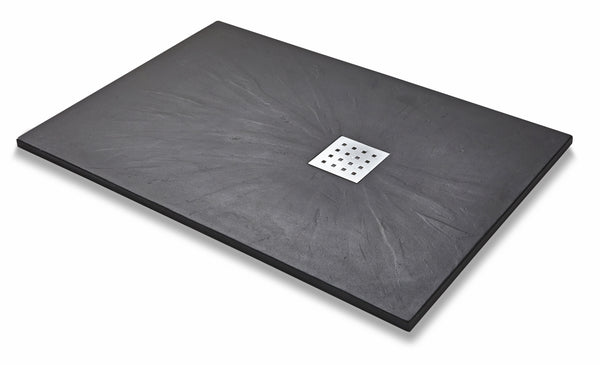Titan Slate Effect Rectangle Shower Tray