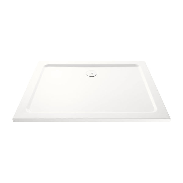 Titan Rectangle Shower Tray & Fast Flow Waste
