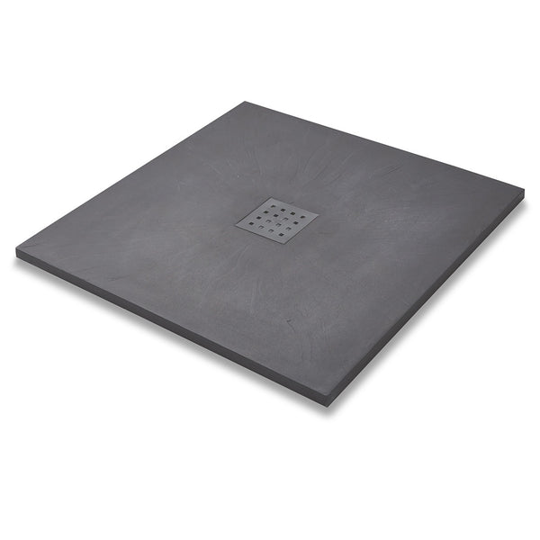 Titan Slate Effect Square Shower Tray