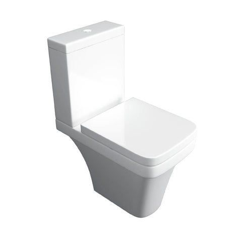 Isla Comfort Height Close Couple Toilet & Soft Closing Seat