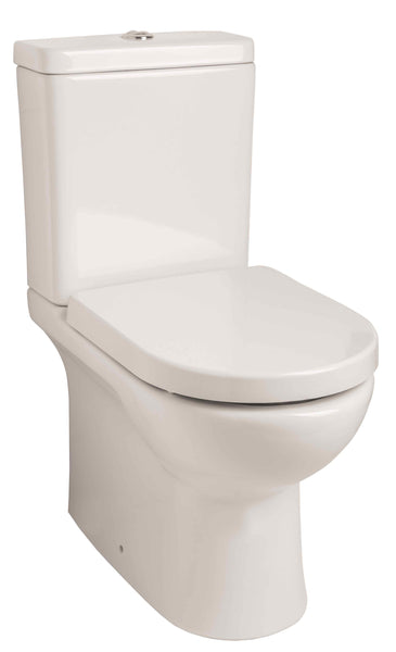 Titan RIMLESS Close Couple Toilet & Soft Closing Seat