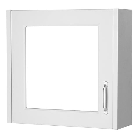 Ayton 600mm Mirror Cabinet White
