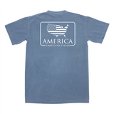 American Patch Pocket Tee - Blue Jean
