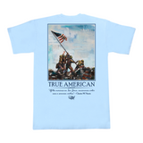 Iwo Jima Pocket Tee - Sky Blue