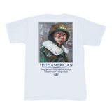 General George S. Patton Pocket Tee - White