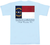 North Carolina Flag Pocket Tee
