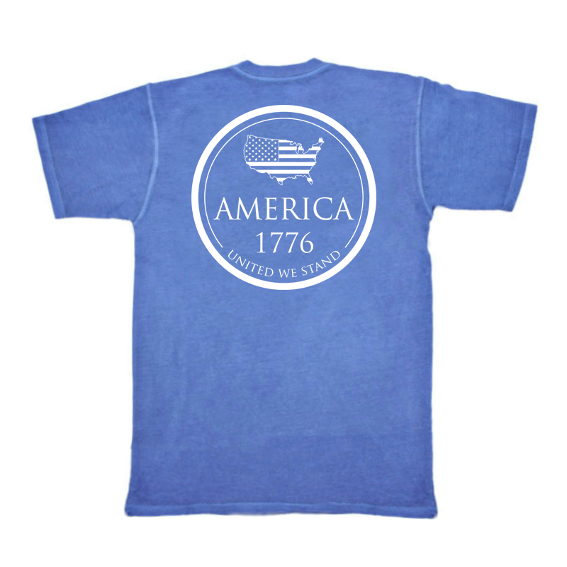 1776 Pocket Tee - Royal Blue