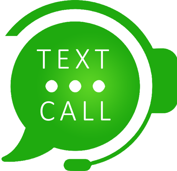 Text or call to chat!