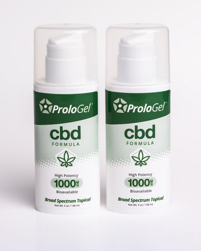 ProloGel CBD Formula – Discount 2 Pack (2 x 5oz Airless Pumps)