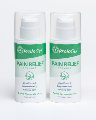ProloGel Pain Relief – Discount 2 Pack (2 x 5oz Airless Pumps)