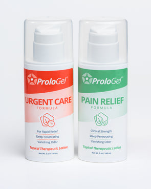 ProloGel Pain Relief Combo – Discount Green & Red Label (1 x each 5 oz Pump Bottle)
