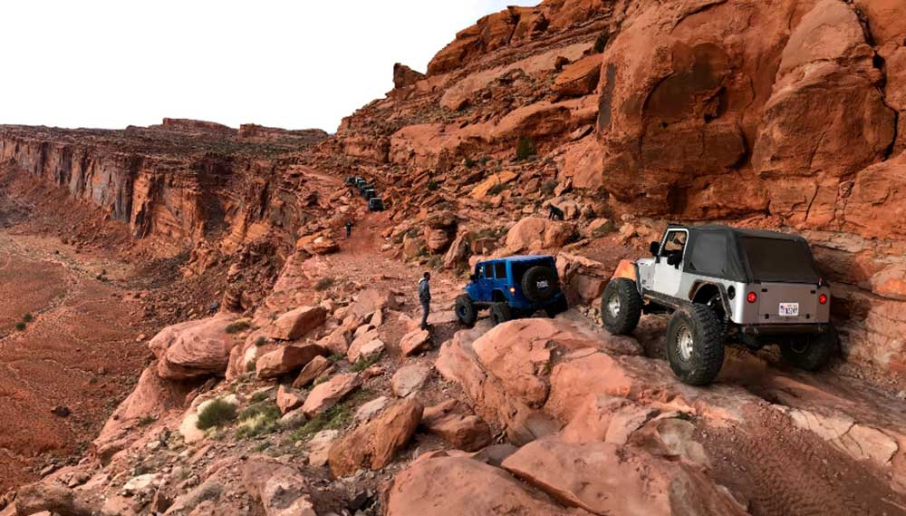 moab utah jeep trail