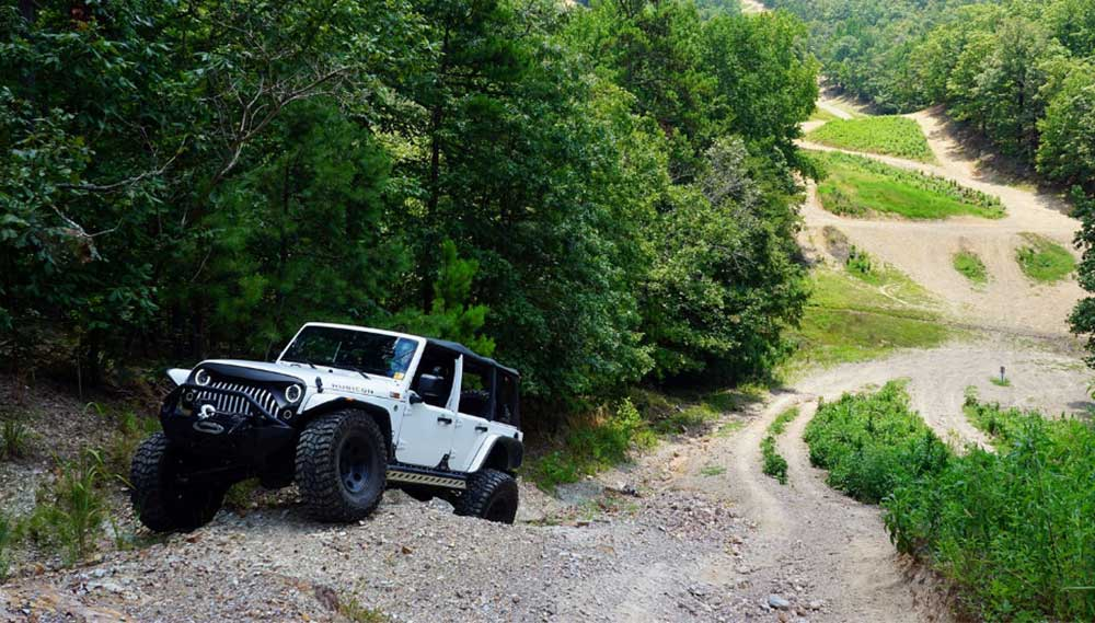Superlift ORV Arkansas jeep