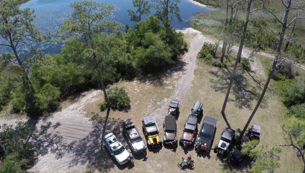 ocala national forest jeep trails