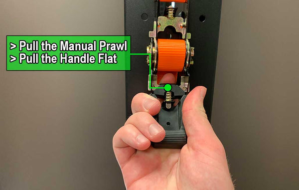 How To Release A Ratchet Strap Rhino Usa