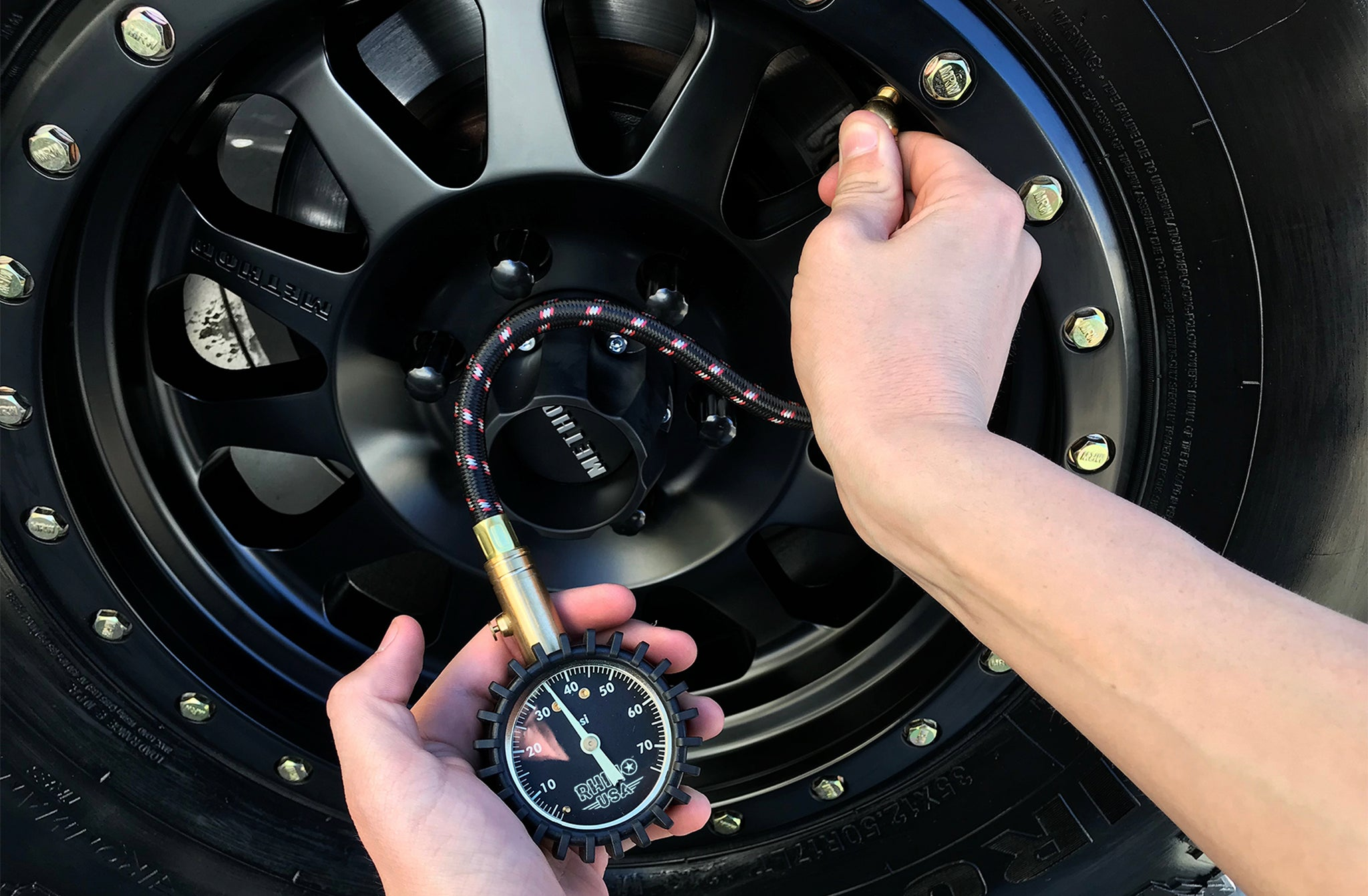 tire pressure light check