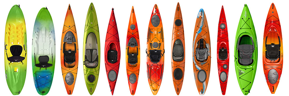types of kayaks