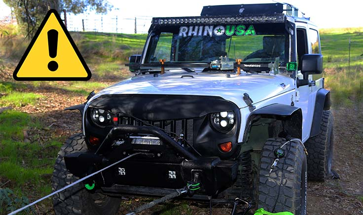 winch and snatch block safety guide