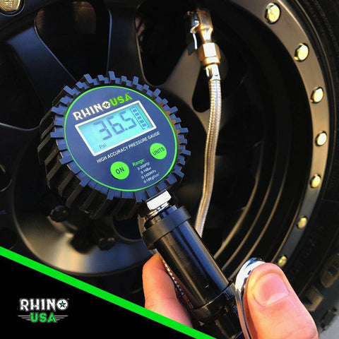 Image of 200 PSI Tire Pressure Inflator Gauge