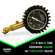 60 PSI Tire Pressure Gauge